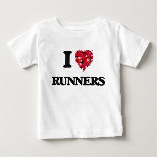 Amo los corredores playeras
