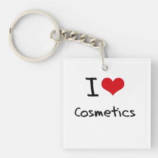 Amo los cosméticos llaveros