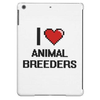Amo los criadores animales funda para iPad air