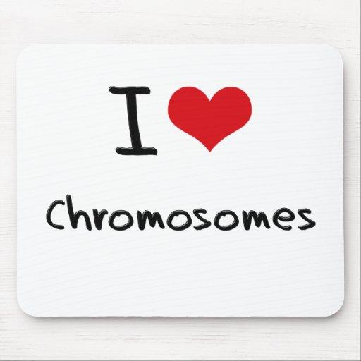 Amo los cromosomas tapetes de ratones