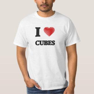 Amo los cubos remeras