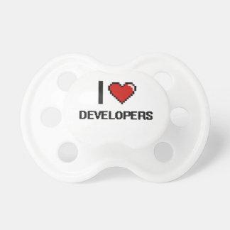 Amo los desarrolladores chupetes para bebes