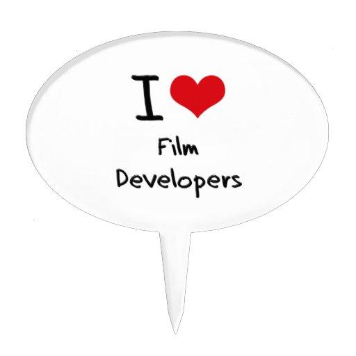 Amo los desarrolladores de la película figuras de tarta