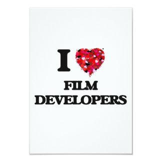"""Amo los desarrolladores de la película invitación 3.5"""" x 5"""""""