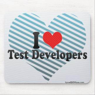 Amo los desarrolladores de la prueba tapetes de ratones