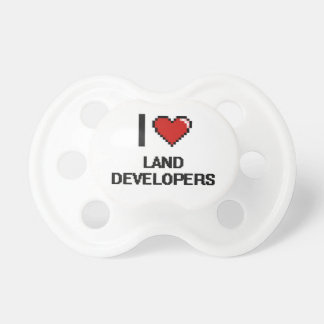 Amo los desarrolladores de la tierra chupetes