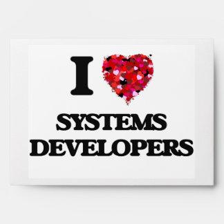 Amo los desarrolladores de los sistemas sobre