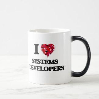 Amo los desarrolladores de los sistemas taza mágica