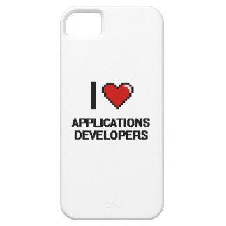 Amo los desarrolladores de usos iPhone 5 cárcasa