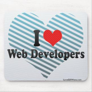 Amo los desarrolladores de Web Tapete De Raton