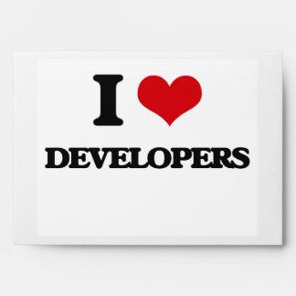 Amo los desarrolladores sobre