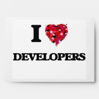 Amo los desarrolladores sobres