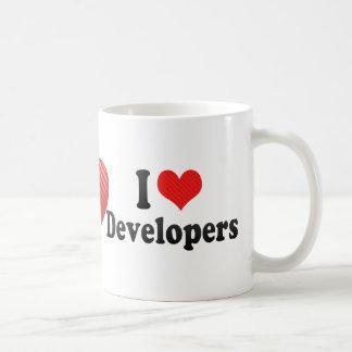 Amo los desarrolladores tazas de café