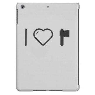 Amo los destrales funda para iPad air