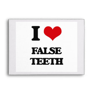 Amo los dientes falsos