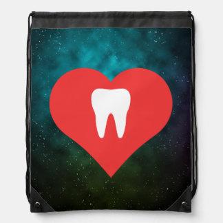 Amo los dientes mochilas
