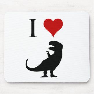 Amo los dinosaurios - T-Rex Alfombrilla De Ratón