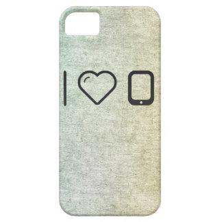 Amo los dispositivos de la PDA iPhone 5 Carcasas