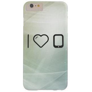 Amo los dispositivos de la PDA Funda Para iPhone 6 Plus Barely There
