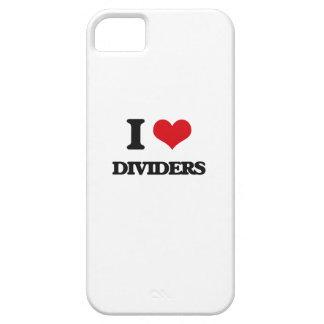 Amo los divisores iPhone 5 fundas