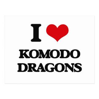 Amo los dragones de Komodo Postal