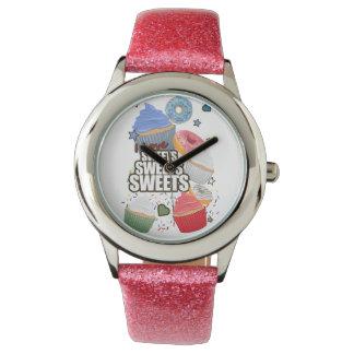 Amo los dulces de los dulces de los dulces relojes