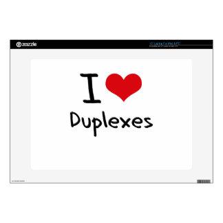 Amo los duplex portátil skins