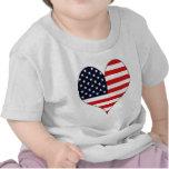 Amo los E.E.U.U. Camiseta