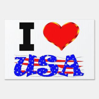 Amo los E.E.U.U. Señales
