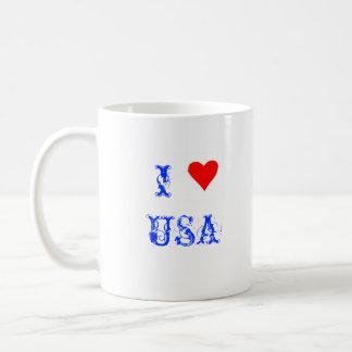 Amo los E.E.U.U. Tazas