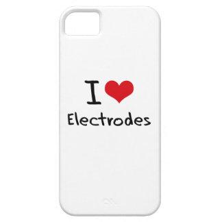 Amo los electrodos iPhone 5 fundas