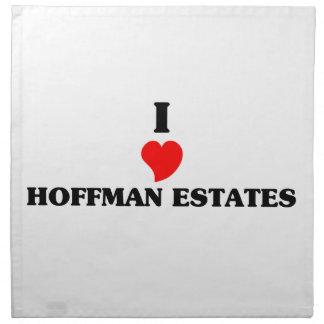 Amo los estados de Hoffman Servilleta