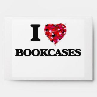 Amo los estantes para libros sobres