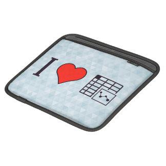 Amo los expedientes de Maintaing Funda Para iPads