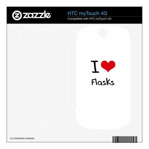 Amo los frascos skins para HTC myTouch 4G