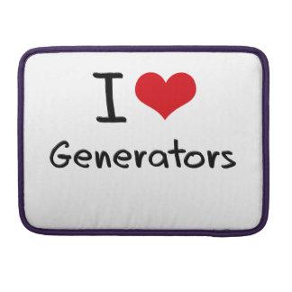 Amo los generadores fundas para macbooks