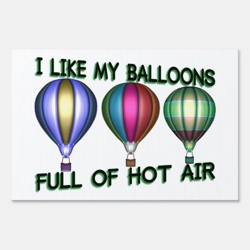 Amo los globos del aire caliente