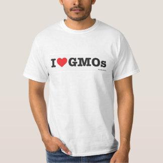 ¡Amo los GMOs! Camiseta Polera