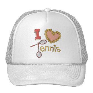 Amo los gorras del tenis
