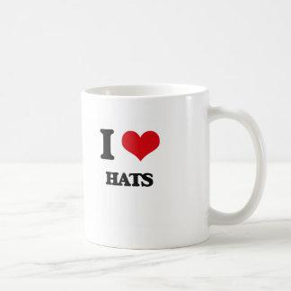 Amo los gorras taza