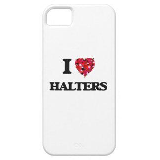 Amo los halter iPhone 5 funda