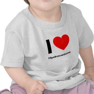 amo los hidrocarburos camisetas