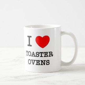 Amo los hornos de la tostadora tazas