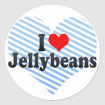 Amo los Jellybeans Etiqueta