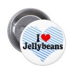 Amo los Jellybeans Pins