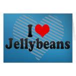 Amo los Jellybeans Tarjetón