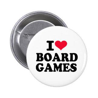 Amo los juegos de mesa pin