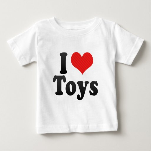 Amo los juguetes playeras