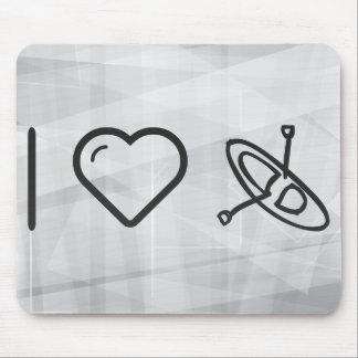 Amo los kajaks mouse pad