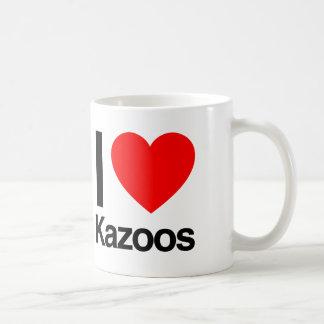amo los kazoos taza clásica